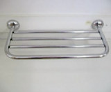 Metlex Majestic Large Chrome Towel Rack Shelf - 01073490